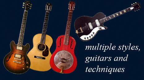 Mulitple Guitars Banner